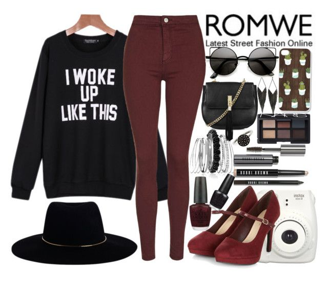 """""""Sheila Take A Bow"""" by geekyravenclaw ❤ liked on Polyvore featuring Topshop, GUESS, Zimmermann, Avenue, NARS Cosmetics, Bobbi Brown Cosmetics and OPI"""