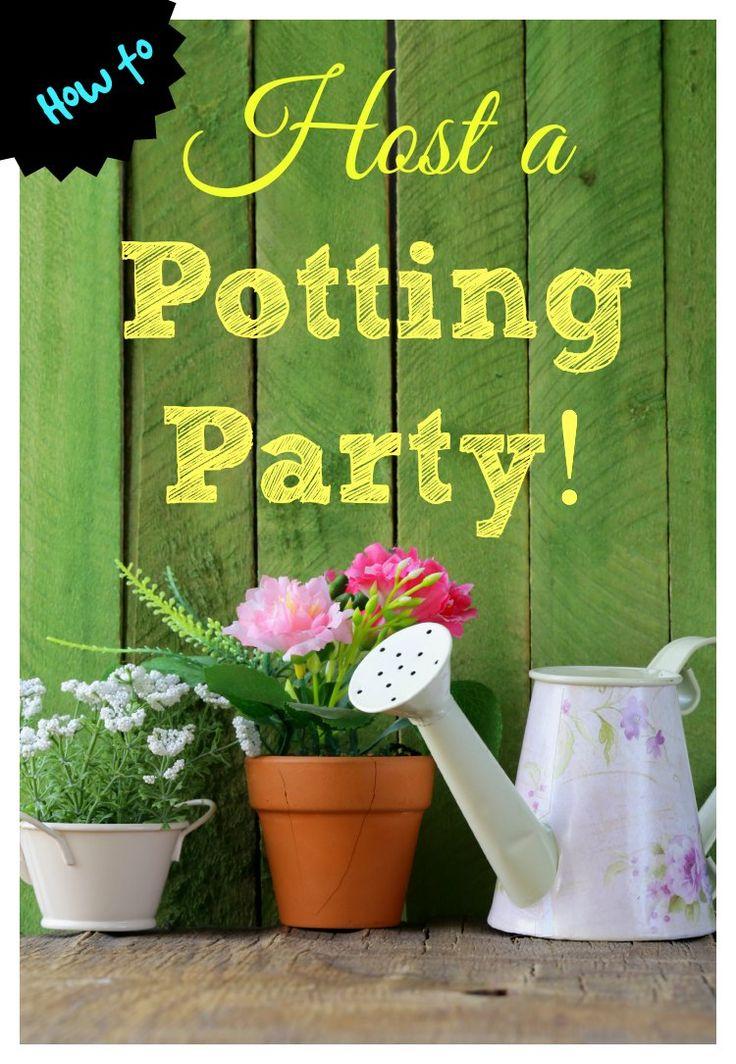 Gardening: Host a Pottying Party! - iSaveA2Z.com
