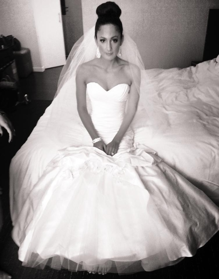 Bride hair and makeup! She looked amazing!