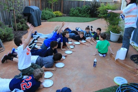 "5 challenges for a ""Fear Factor"" themed birthday party"