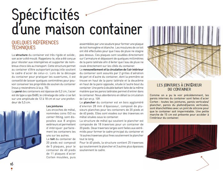 1000 id es sur le th me construire sa maison container sur for Autoconstruction maison container