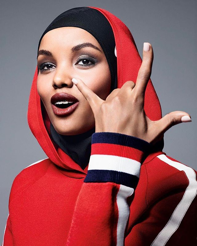 Our cover star #HalimaAden is the definition of American Beauty. : @solvesundsbostudio : @beatbolliger : @philippetholimet : @thevalgarland : @mariannewman  via ALLURE MAGAZINE OFFICIAL INSTAGRAM - Fashion Campaigns  Haute Couture  Advertising  Editorial Photography  Magazine Cover Designs  Supermodels  Runway Models