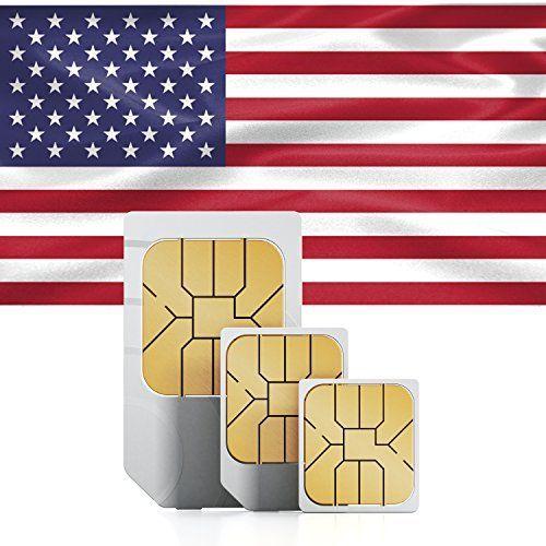 Sim Karte Prepaid.Jetzt Verfügbar Travsim Usa Prepaid Daten Sim Karte 1gb Für 30