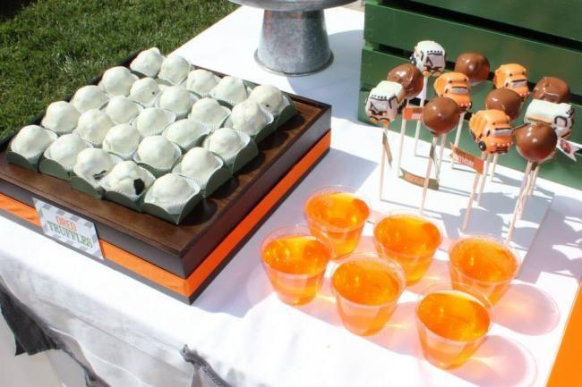 Boys Garbage Truck Themed Birthday Party Food Ideas