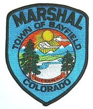 MARSHAL TOWN OF BAYFIELD COLORADO POLICE PATCH