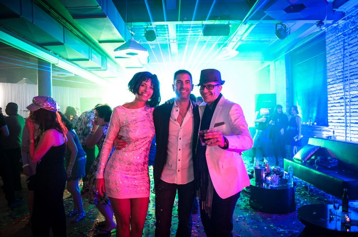 2nd Floor Events - Myself, Arthur K, with the Birthday Boy http://www.fusion-events.ca/