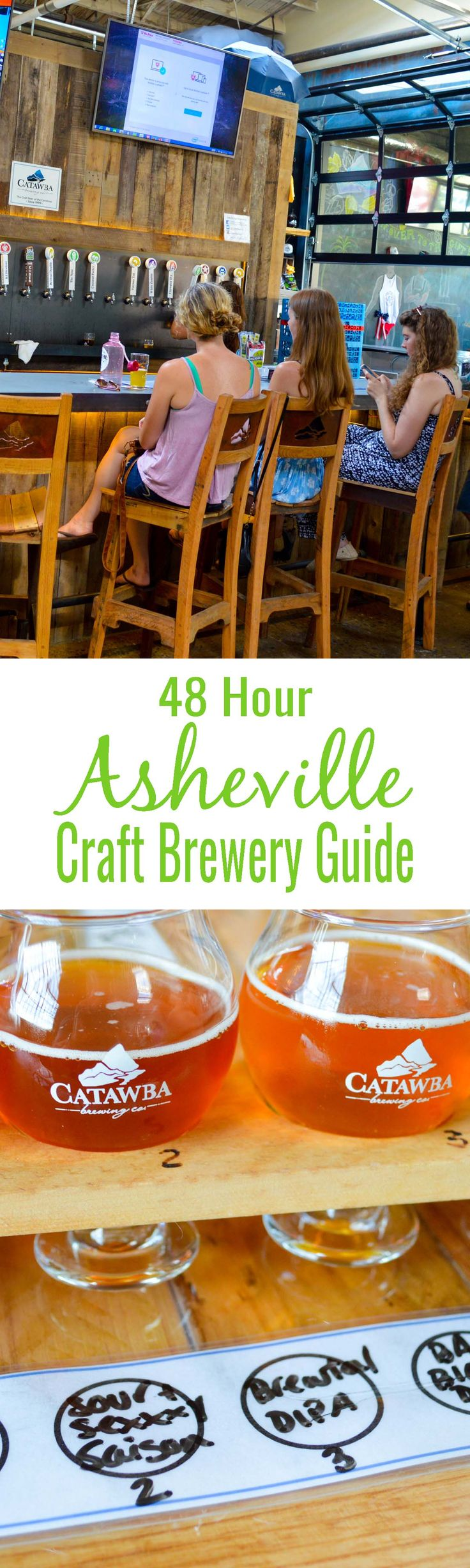 48 Hour Asheville Craft Brewery Guide - Our guide will help you create your own Asheville Brewery Tour. You won't be rushed, and you'll get to visit the breweries you want to visit.