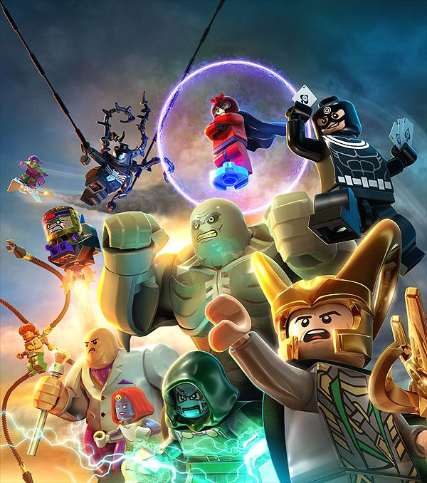 Lego Marvel Super Heroes Part 2: Key Art and Print Ads by Albert Co, via Behance