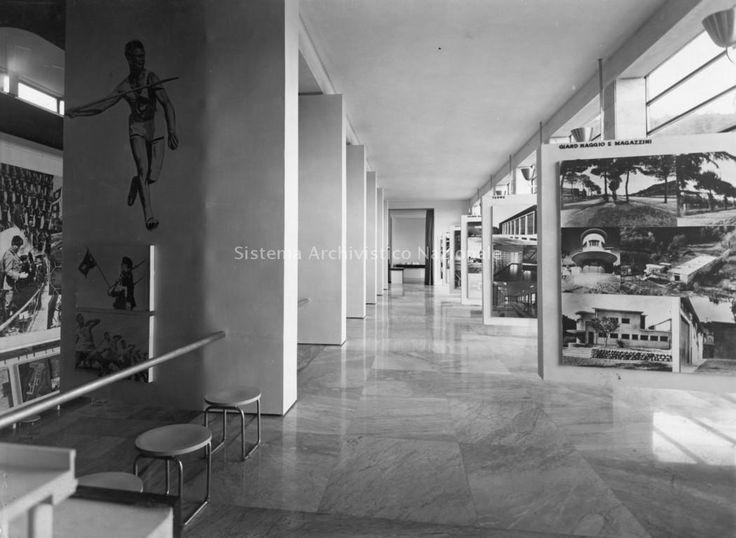 Accademia di Scherma (aka Casa delle Armi) al Foro Italico, Roma IT (1933-36) | Luigi Moretti