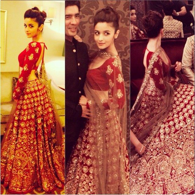 Alia Bhatt Walked For Manish Malhotra | StarsCraze