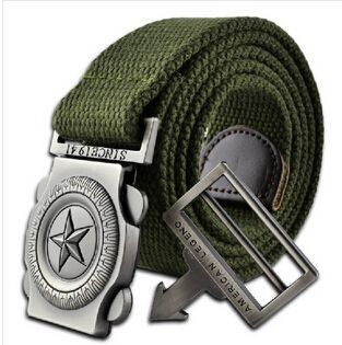 Hot sales Military Belt Men's Canvas Belt with Automatic Buckle Factory Direct Wholesales Free shipping cintos cinturon-in Belts & Cummerbunds from Men's Clothing & Accessories on Aliexpress.com | Alibaba Group