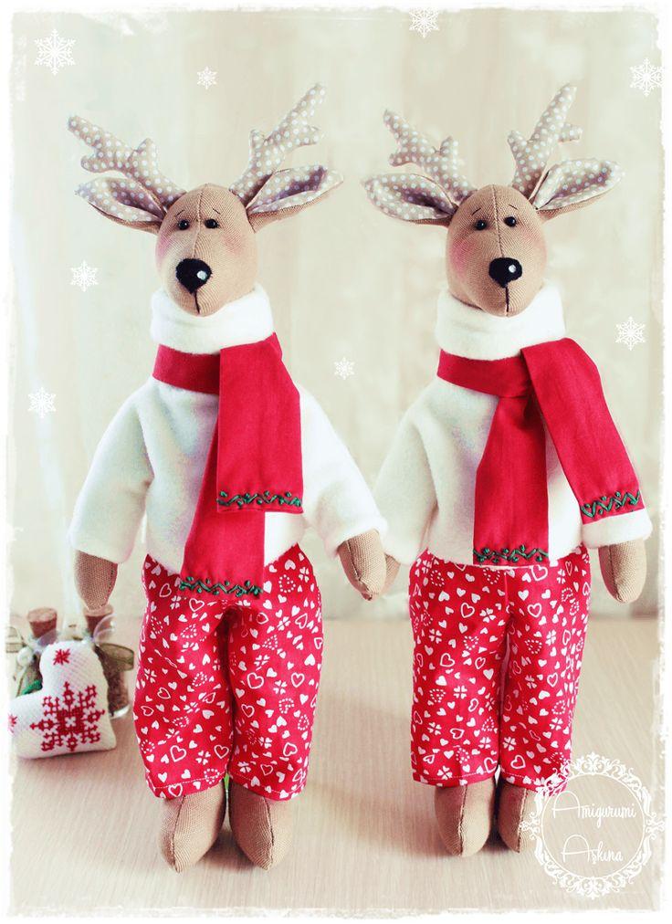 Yeni Yıl Geyiği- New Year Deers :D