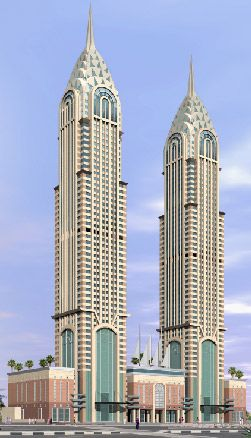 Al Kazim Towers, Dubai