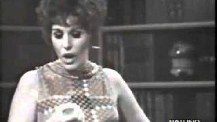 """Le canzoni della mala/ In un raro filmato Ornella Vanoni e Giorgio Gaber cantano """"Ma mi"""""""