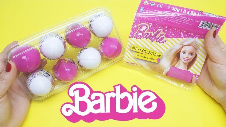 Barbie Sürpriz Yumurtaları Açıyorum - Eğlenceli Videolar