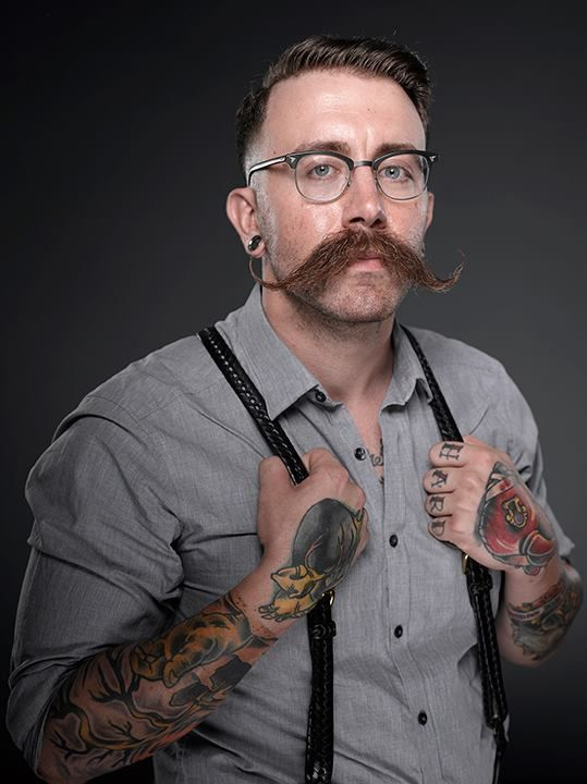 Adam Consalvo... (2013 Beard And Mustache Championships)