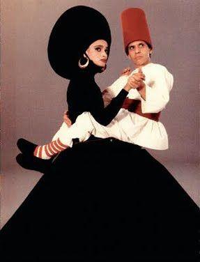 Circa 1989 - Azzedine Alaia by Jean Paul Goude