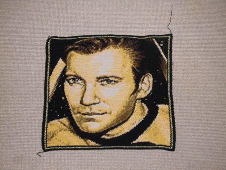 James T Kirk crochet chart at Totallee.net by Lee Mac #StarTrek