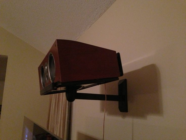 Wall Mount Center Speaker Shelf