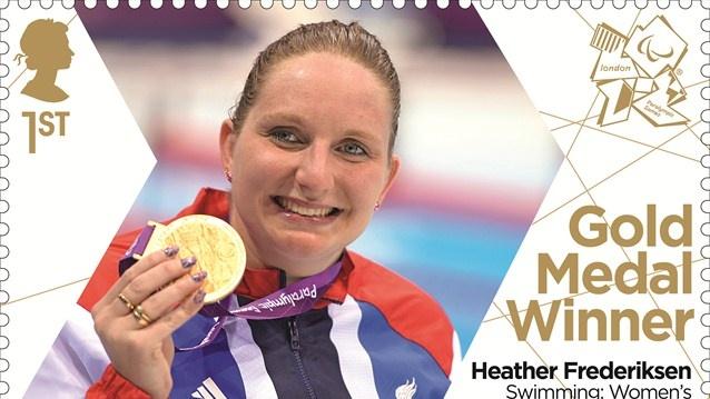 Heather Frederiksen gold medal stamp