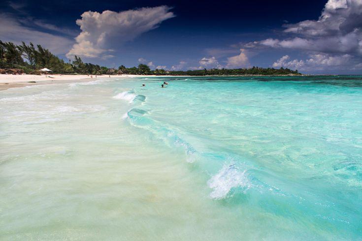 6 playas que parecen una piscina natural en la Riviera Maya (México)