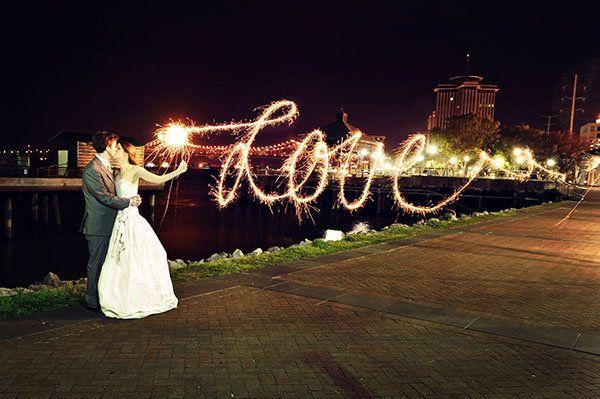 After Dark: 50 Gorgeous Nighttime Wedding Photos