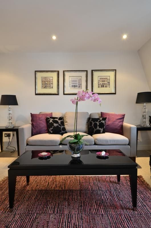 Sala De Estar Roxa E Cinza ~ Qué te parece decorar tu sala con colores en tonos lila? ¿Te