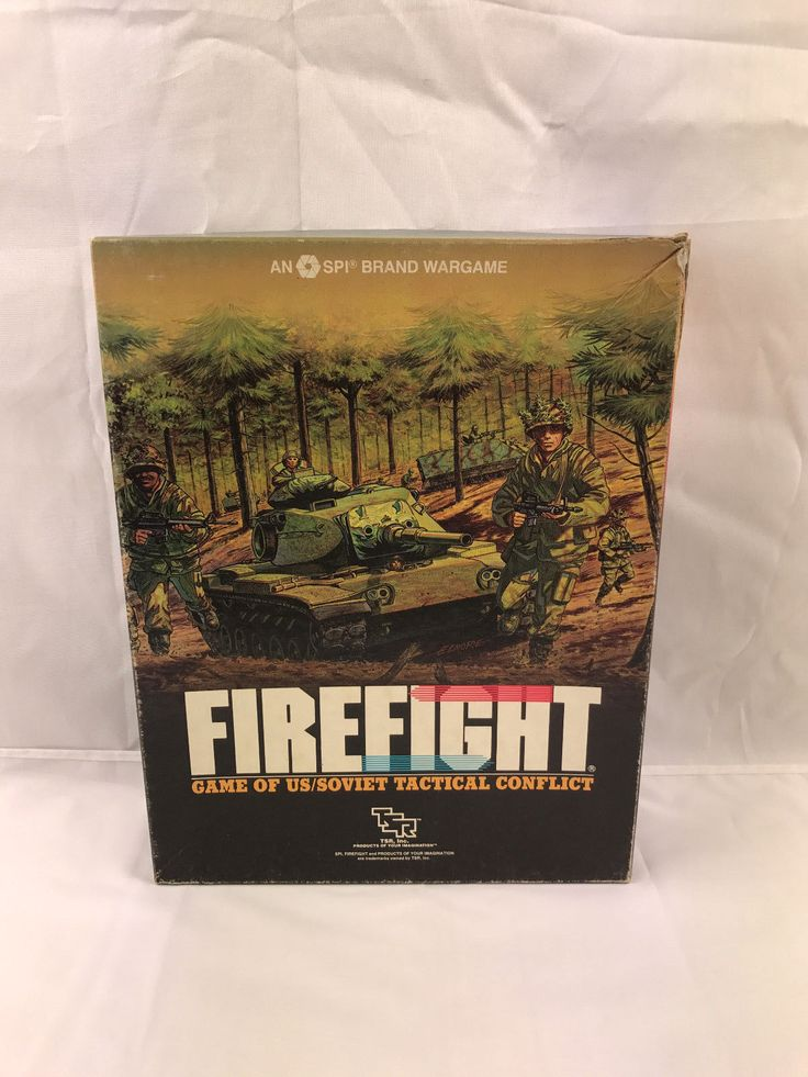 Firefight - Vintage simulation war board game SPI 1984 - Very Rare Game 1984 in Toys & Games, Games, Board & Traditional Games | eBay