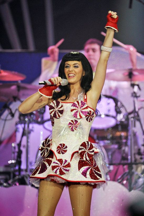 Katy Perry's candy-inspired outfits