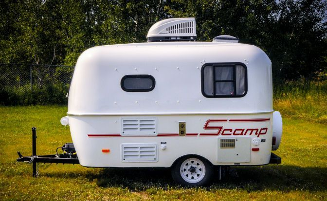 13' Economical & Light Weight Travel Trailers - Scamp Trailers