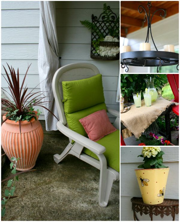 167 best *outdoor patio decor ideas* images on pinterest | home ... - Patio Room Ideas