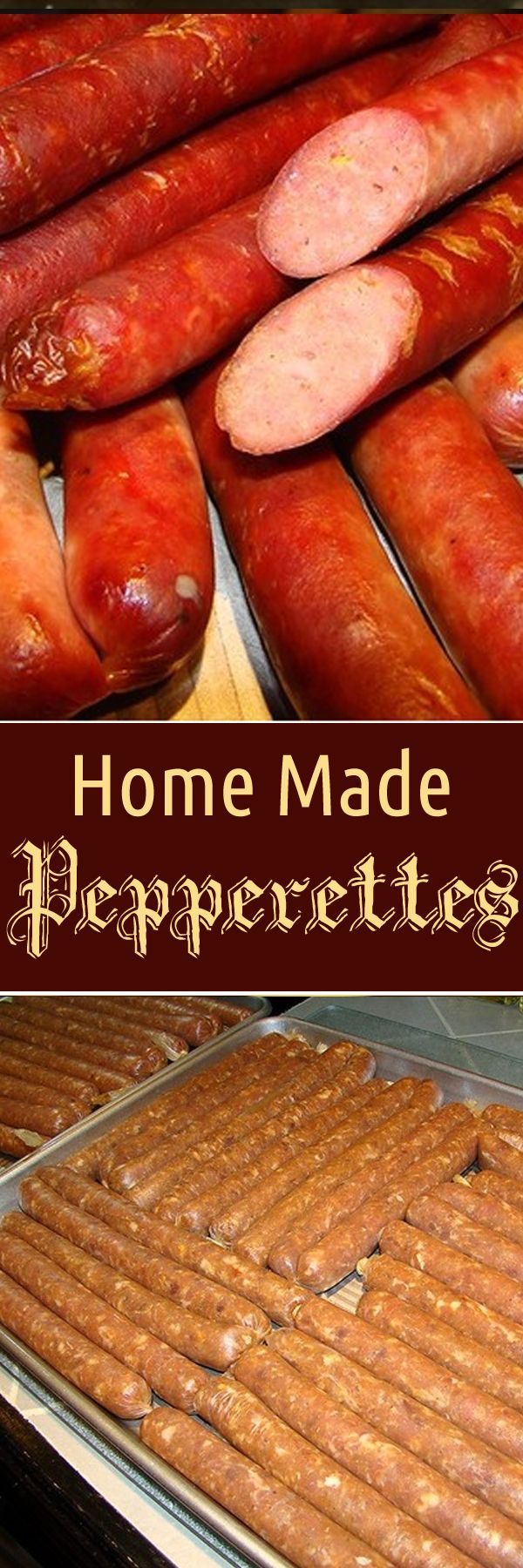 Home Made Pepperettes. For more info, please visit http://www.recipezazz.com/