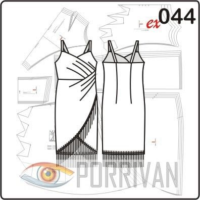 Платье в ретро стиле чарльстон – классическое платье для коктейля. Для кройки и шитья модели используйте лайкровые ткани, джерси, бархат. Платье облегающее