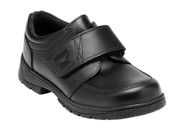 Rip tape fastening leather boys school shoes http://www.startriteshoes.com/boys/school-shoes/accelerate