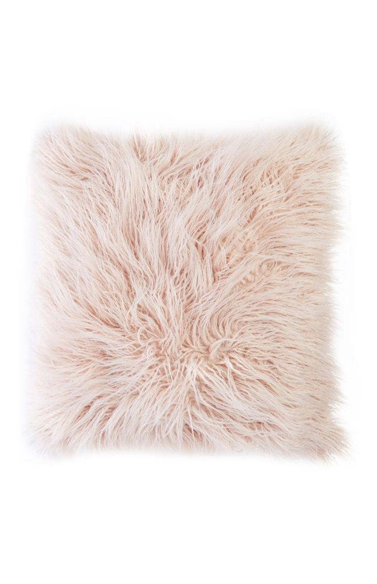 Primark - Pink Fluffy Pillow