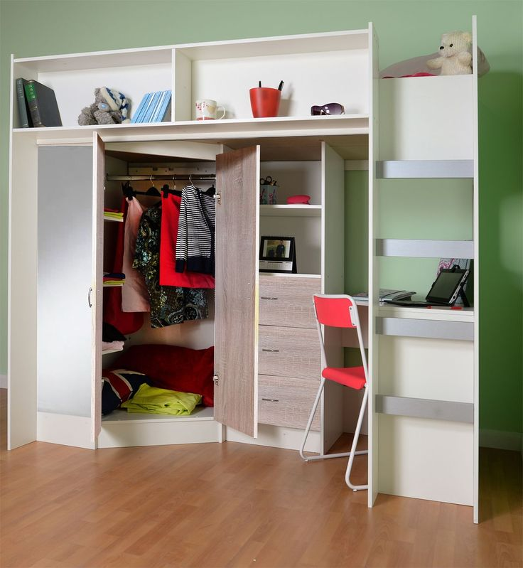 High Sleeper Bed, Girls Bedroom Accessories And