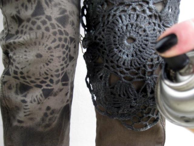 VMSomⒶ KOPPA: Pitsipolvet. Leuk idee voor je spijkerbroek.