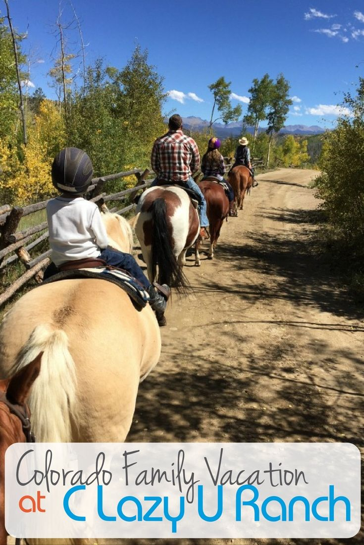 What to expect at the C Lazy U Ranch in Colorado