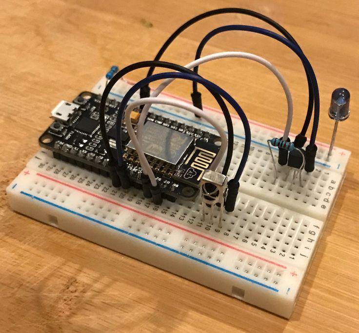 ESP8266 IR blaster using Arduino IDO and accepting Alexa input