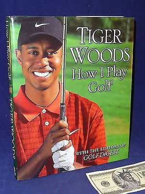 Tiger Woods Golf Book How I Play Golf Golf Digest Editors 1st Edition Hardcover Books:Nonfiction www.internetauctionservicesllc.com $19.99
