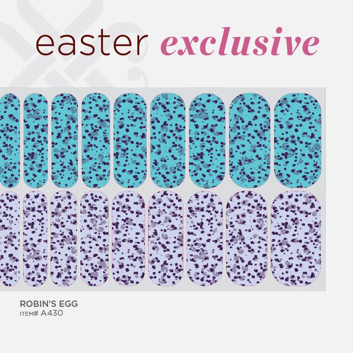 Robins Egg, one of Jamberry Nails 2014 Easter Exclusives!   www.hollysparkles.jamberrynails.net