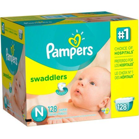 Pampers Swaddlers Diapers, Giant Pack, Size 2 and up, 128 count - Walmart.com