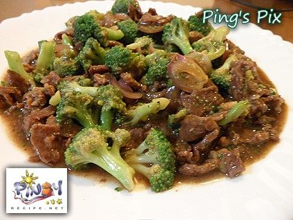 Chinese Beef Broccoli Recipe,  Learn how to make Chinese Beef Broccoli from PinoyRecipe.net.  This dish is a heart-healthy and delicious stir fry beef and broccoli recipe, that is quick and easy to prepare and adds protein from the beef strips with authentic Chinese cuisine taste.    Read more: http://www.pinoyrecipe.net/chinese-beef-broccoli-recipe-how-to-make-chinese-beef-broccoli/