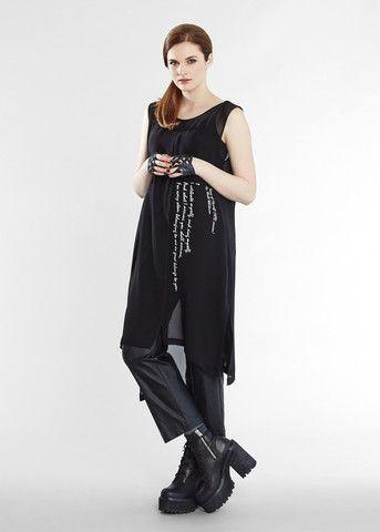 Song of Myself Dress - Black Ivory