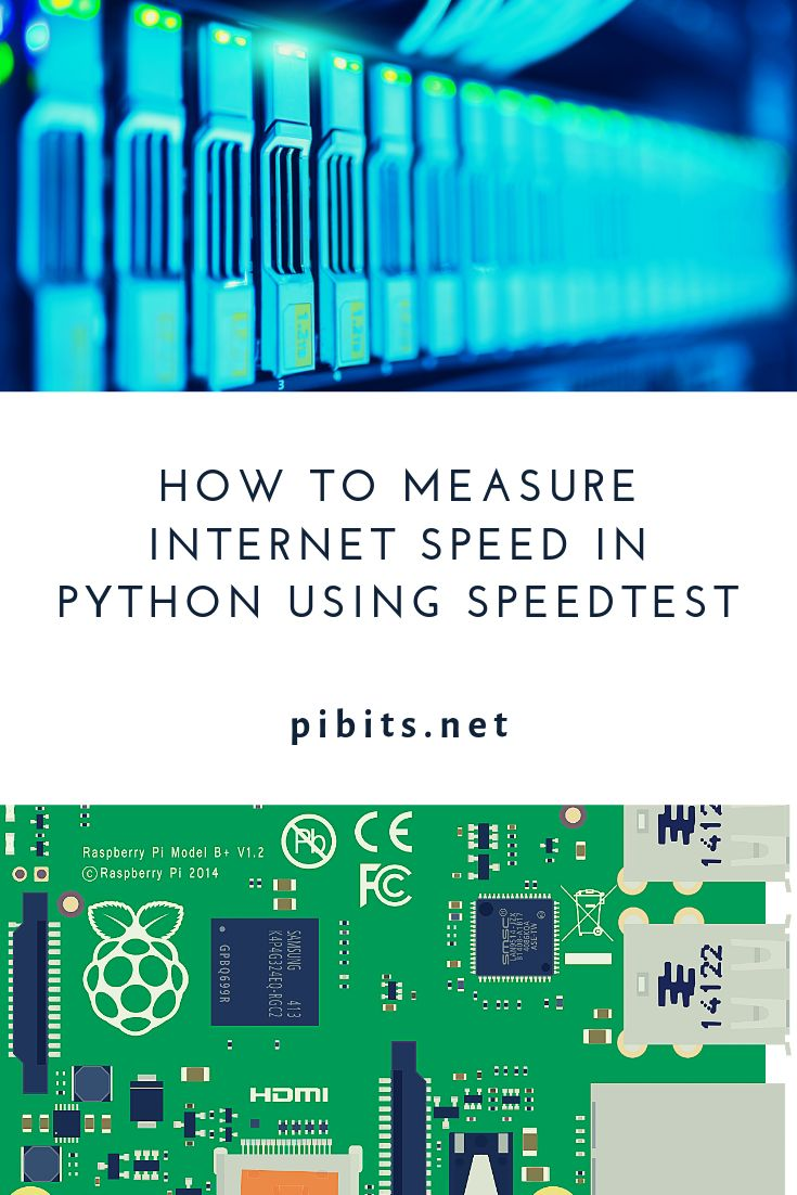How to Measure Speed In Python Using Speedtest