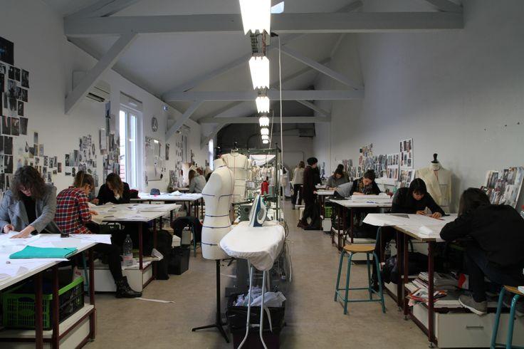l'Atelier des 3ème Année IICC-Mode à la Maison Méditerranéenne des Métiers de la Mode Crédit Photo: Edwige Duc