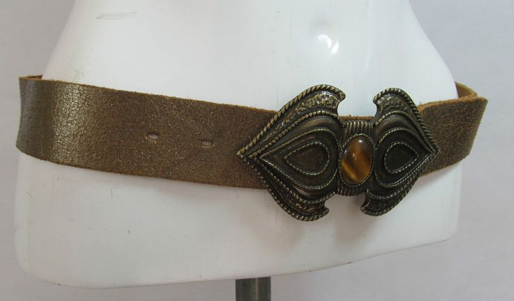 Next metallic gold distressed soft leather belt fashion belt buckle L/XL R15305 #style #fashion #love #woman #chic #eBay #BELT #sangriasuzie