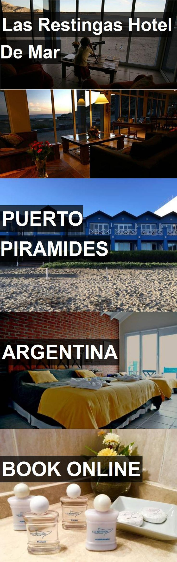 Hotel Las Restingas Hotel De Mar in Puerto Piramides, Argentina. For more information, photos, reviews and best prices please follow the link. #Argentina #PuertoPiramides #hotel #travel #vacation
