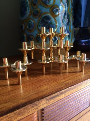 Mid Century Nagel Bmf Style Candle Holders