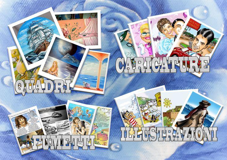 quadri, fumetti, caricature, illustrazioni, grafica......
